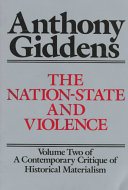 A Contemporary Critique of Historical Materialism: The nation-state and violence