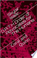 O A T H   Order of Advocates for The Humans  Book