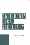 California Legal Secretary