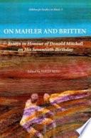 On Mahler And Britten Pb