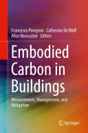 Embodied Carbon in Buildings