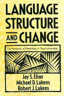 Language, Structure, and Change