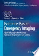 Evidence Based Emergency Imaging Book