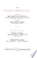 The pulpit commentary  ed  by H D M  Spence and J S  Exell  nT