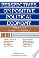 Perspectives on Positive Political Economy