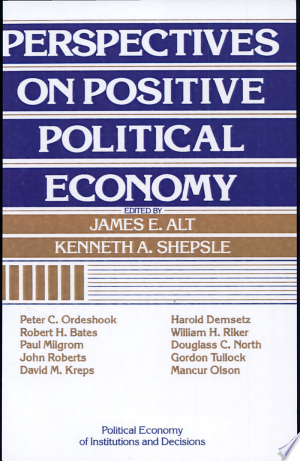 Download Perspectives on Positive Political Economy Free Books - Get Bestseller Books For Free