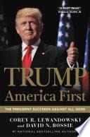 Trump  America First Book PDF
