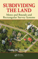 Subdividing the Land