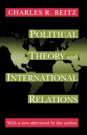 Political Theory and International Relations Pdf/ePub eBook