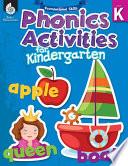 Foundational Skills  Phonics for Kindergarten Book