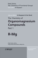 The Chemistry of Organomagnesium Compounds Book