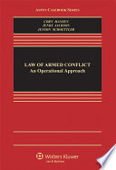The Law Of Armed Conflict Book