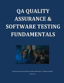 Qa Quality Assurance & Software Testing Fundamentals