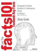 Studyguide for Special Education in Contemporary Society by Gargiulo
