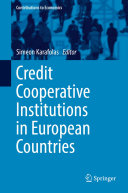 Pdf Credit Cooperative Institutions in European Countries Telecharger