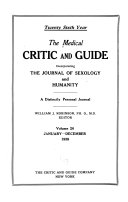 The Medical Critic and Guide