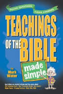 Teachings of the Bible Made Simple Book