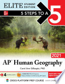 5 Steps To A 5 Ap Human Geography 2021 Elite Student Edition Book PDF