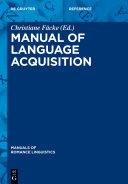 Manual of Language Acquisition