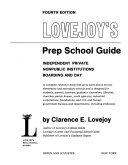 Lovejoy s Prep School Guide