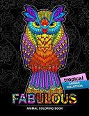 Fabulous Animals Coloring Book