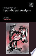 Handbook Of Input Output Analysis Book