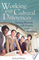 Working with Cultural Differences Book