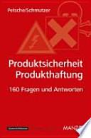 Produktsicherheit-Produkthaftung