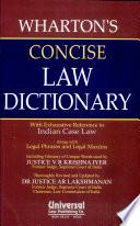 Wharton's concise dictionary