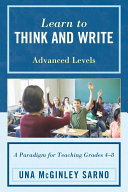 Pdf Learn to Think and Write Telecharger