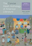 The Concise Heath Anthology of American Literature