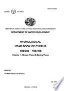 Hydrological Year-book of Cyprus