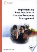 Implementing Best Practices in Human Resources Management
