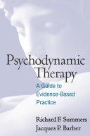 Psychodynamic Therapy [Pdf/ePub] eBook