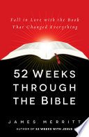 52 Weeks Through the Bible Book