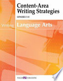 Content-area Writing Strategies For Language Arts