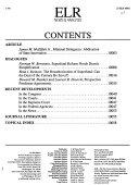 Environmental Law Reporter Book