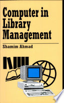 Computer in Library Management Book