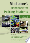 Blackstone's Handbook for Policing Students 2016