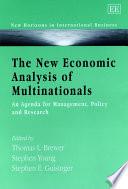 The New Economic Analysis Of Multinationals