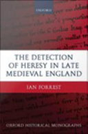 The Detection of Heresy in Late Medieval England [Pdf/ePub] eBook
