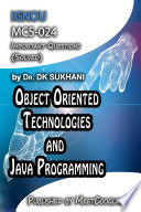 Mcs 024 Object Oriented Technologies And Java Programming