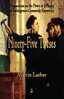 Martin Luther s 95 Theses