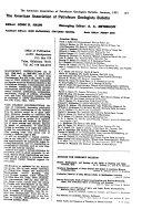 The American Association Of Petroleum Geologists Bulletin