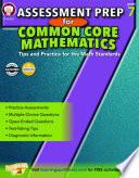 Assessment Prep for Common Core Mathematics  Grade 7