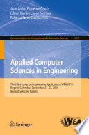 Applied Computer Sciences In Engineering Book PDF