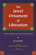 The Jewel Ornament of Liberation Book