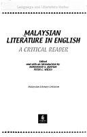 Malaysian Literature In English