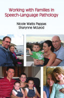 Working with Families in Speech language Pathology