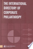 The International Directory of Corporate Philanthropy